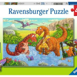 dinosaurs at play puzzle