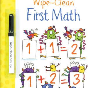 Wipe-Clean, First Math