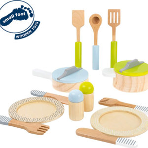 Crockery And Cookware Set Children'S Kitchen