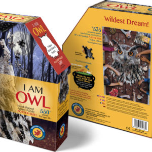 Madd Capp Puzzle - I Am Owl