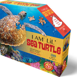 Madd Capp Puzzle Jr. - I Am Lil Sea Turtle