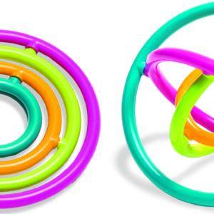 Round Gyrobi Fidget Toy (24 ct. Display)