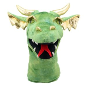Dragon Head Puppet - Green