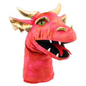Dragon head Puppet - Red