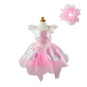 Iridescent Fairy Dress with Halo