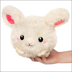 "Mini Snuggle Bunny Cream (7"")"