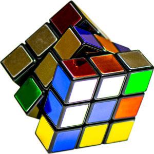Rubik's Cube Metallic 40th Anniversary Edition