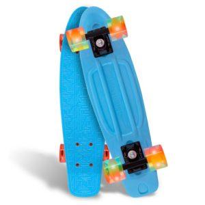 Blue Cruiser w:Orange LED Wheels