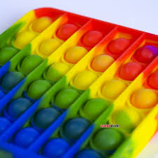 Rainbow Square Pop It