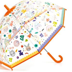 Faces Color-Changing Children'S Umbrella