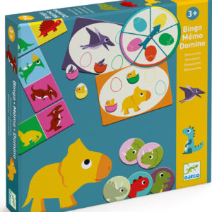 Djeco Dinosaur My First Games 3 Pack