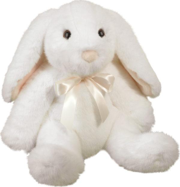 Bianca Dlux White Sitting Bunny