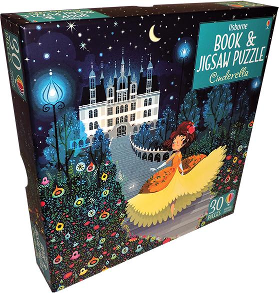 Cinderella - Book & Jigsaw Puzzle