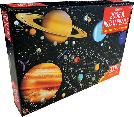 Solar System - Book & Jigsaw Puzzle