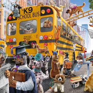 Puzzle 100 Pc Pet School Pal