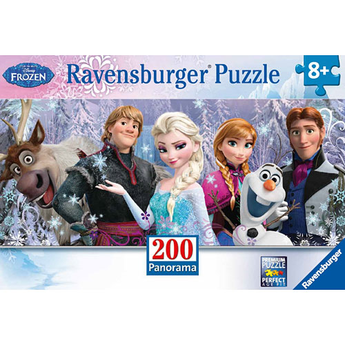 Disney's Frozen Friends, 200pc Panoramic Puzzle