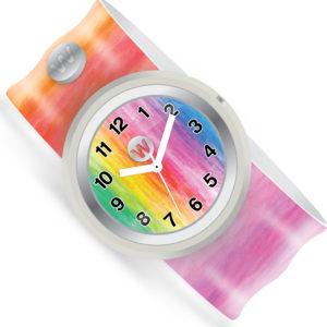 Watchitude 187 Slap Watch - Watercolors