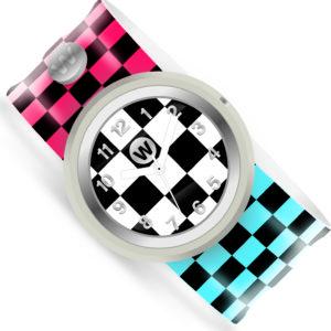 Checkered Flag - Watchitude Slap Watch
