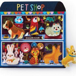 Wood Puzzle Pet Shop
