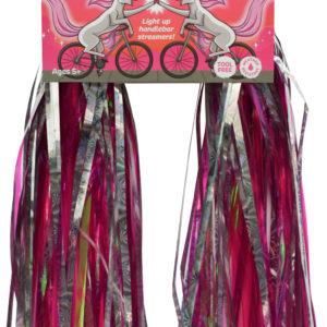 Sparklebrightz Pink Led Handlebar Streamers