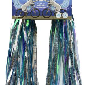 Sparklebrightz Blue Led Handlebar Streamers
