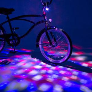 Cruzinbrightz Patriotic Led Bicycle Projection Light