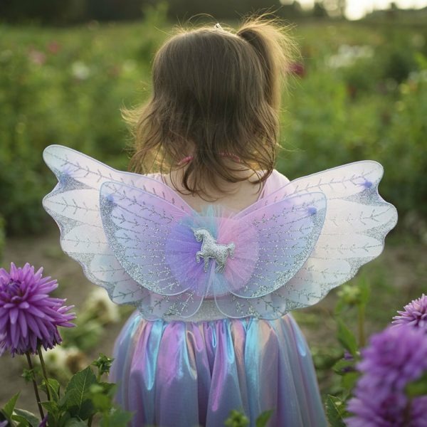 Magical Unicorn Skirt Wings Pastel