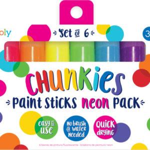 Chunkies Paint Sticks Neon Set Of 6