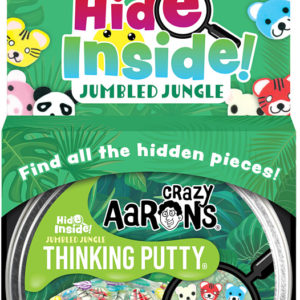 Crazy Aaron's Hide Inside! Jumbled Jungle Thinking Putty