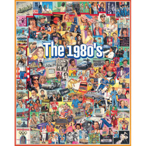 The Eighties 1000 PC Puzzle-White Mountain Puzzles