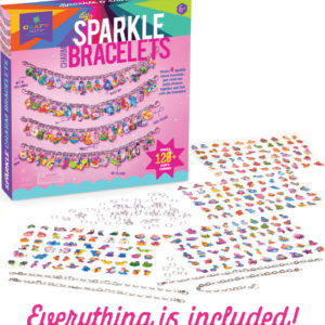 Craft-tastic DIY Sparkle Charm Bracelets