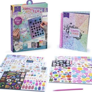 Craft-Tastic Scratch And Sticker Journal