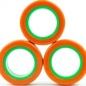 Fingears - MED Orange and Green