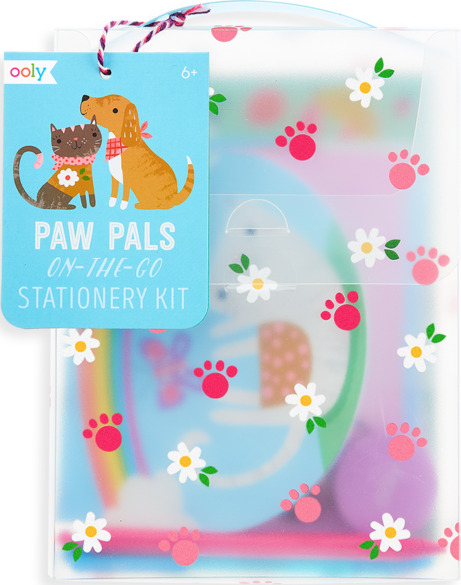 On-the-go Travel Stationery Kit Paw Pals