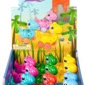 "3.25"" Wind-Up Dinosaur Toy"
