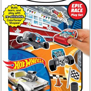 Colorforms Playset - Hot Wheels