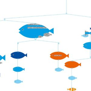Paper Mobiles - Fishes In Harmony