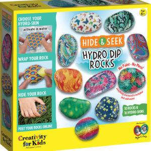 Hide And Seek Hydro Dip Rocks