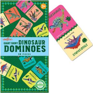 Giant Shiny Dinosaur Dominoes 28 pcs