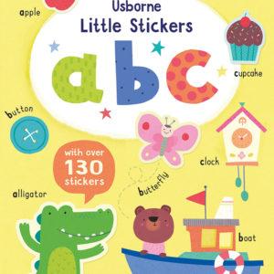 Little Stickers A B C