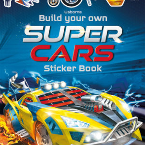 Sticker Build Your Own Super Cars