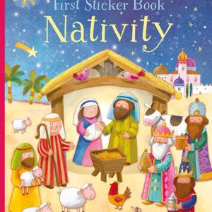 First Sticker Book Nativity