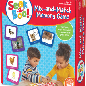 SEEK-A-BOO MIX-AND-MATCH MEMORY GAME