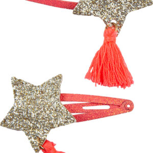 Boutique Sassy Tassy Star Hairclips (2 Pcs)