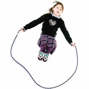 8' Purple Confetti Jump Rope
