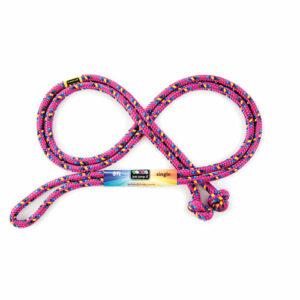 8' Raspberry Confetti Jump Rope