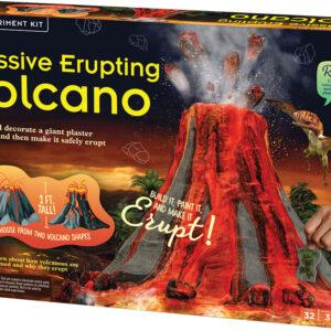 Massive Erupting Volcano