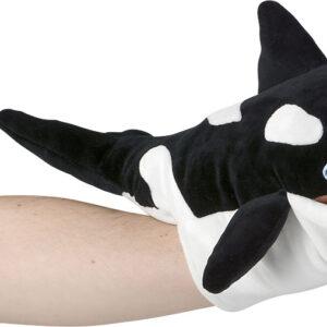 """15"""" Ocean Safe Orca Puppet"""
