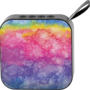 Rainbow Tie-Dye Speaker