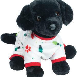 Douglas PJ Pup Black Lab Plush Stuffed Animal - Medium